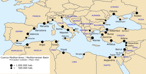 Mediterranean-major-cities